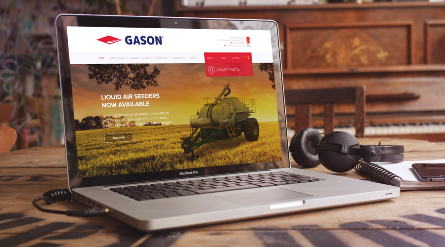 Gason Website